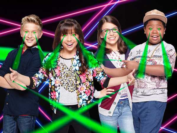 """Game Shakers: """"Laser Time!"""""""