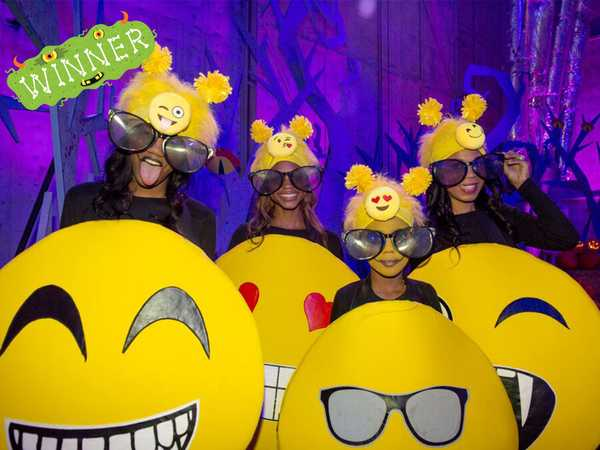 "Ultimate Halloween Costume Party: ""OMG Emojis Win!"""