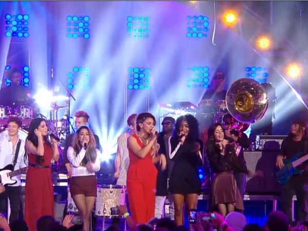"The 2014 HALO Awards: Fifth Harmony and The Vamps Perform ""Halo"" with The Roots"