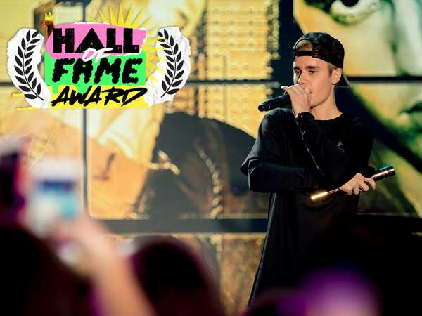"The 2015 Nickelodeon HALO Awards: ""Justin Bieber's Acceptance Speech"""