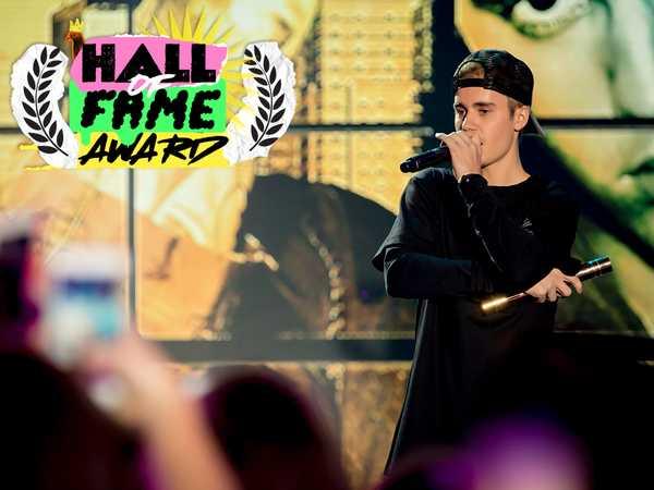 "The 2015 Nickelodeon HALO Awards: ""Justin Bieber's Acceptance Speech"""
