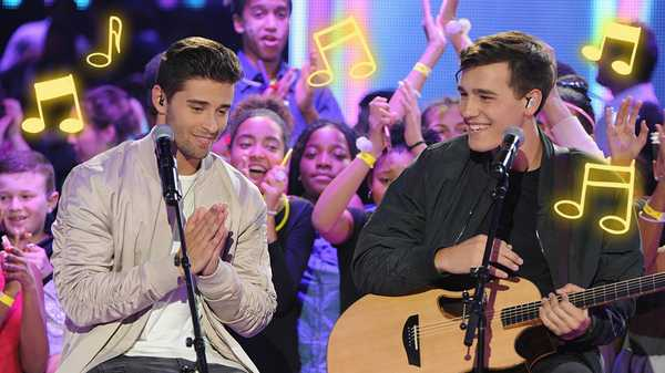 "HALO Awards 2016: Jacob Whitesides and Jake Miller Cover ""Cold Water"""