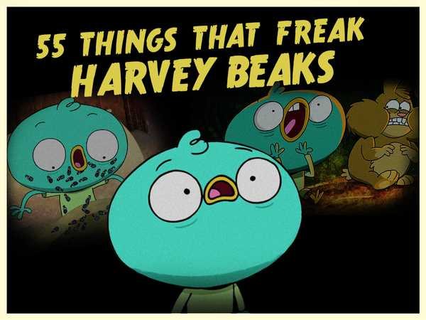 "Harvey Beaks: ""Harvey Freaks!"""