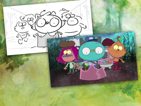 "Harvey Beaks: ""Designing the Maze"""