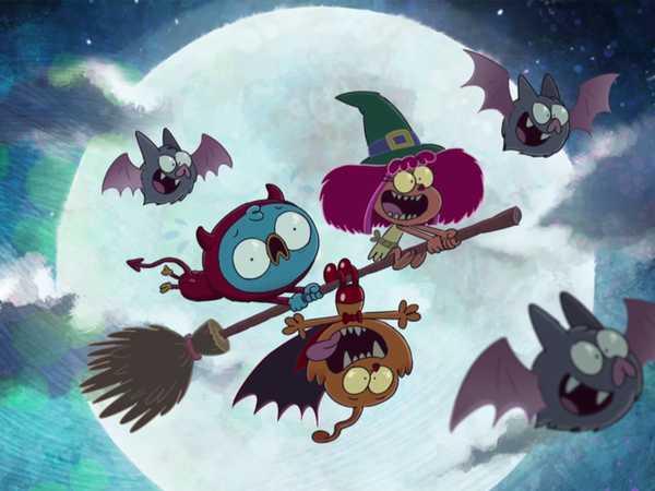 """Harvey Beaks: """"Halloween Intro"""""""