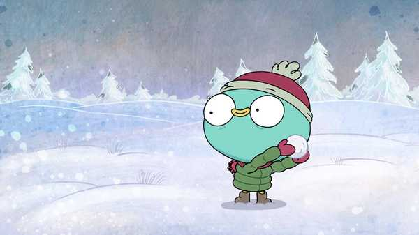 "Harvey Beaks: ""Snowball Fight"""