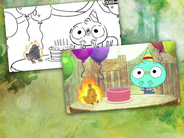 "Harvey Beaks: ""Watch Harvey Grow"""