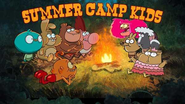 "Harvey Beaks: ""10 Kids You Meet at Summer Camp"""