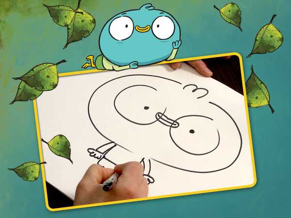 "Harvey Beaks: ""How to Draw Harvey"""