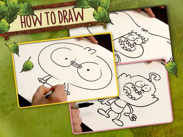 "Harvey Beaks: ""How to Draw"""
