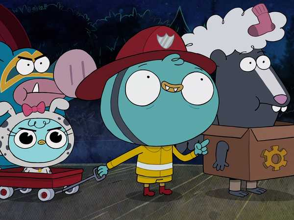 "Harvey Beaks: ""Techno Bear"""