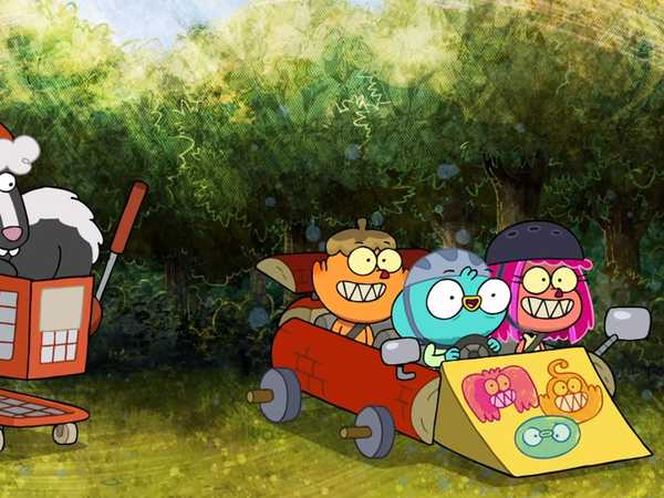 "Harvey Beaks: ""Bark Kart"""