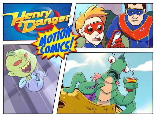 "Henry Danger: ""Motion Comics Vol. 1"""