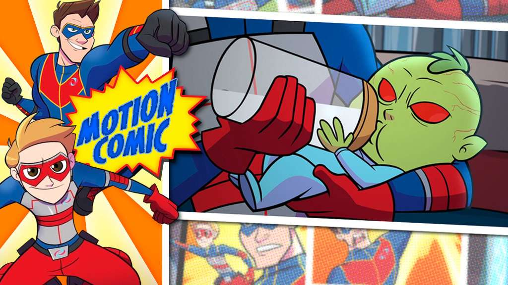 "Henry Danger: ""Motion Comic Issue #01: Monster Baby"""