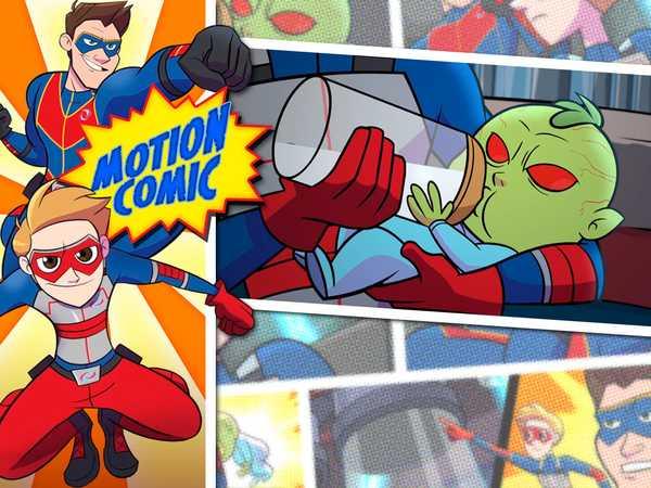 """Henry Danger: """"Motion Comic Issue #01: Monster Baby"""""""