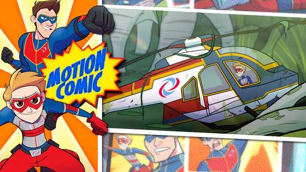 """Henry Danger: """"Motion Comic Issue #6: Man-Copter Down!"""""""