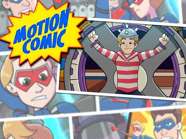 "Henry Danger: ""Motion Comic #12: Super Powered by Schwoz"""