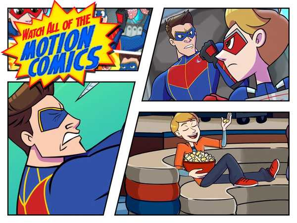 Henry Danger: Motion Comics: Catch Up