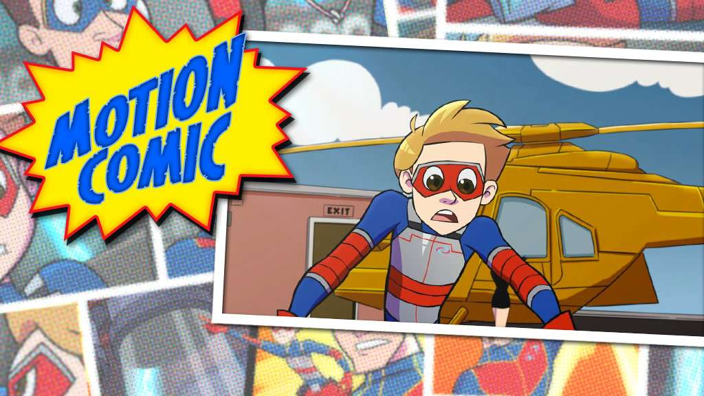 "Henry Danger: ""Motion Comic Issue #10: Sticky Vicky"""