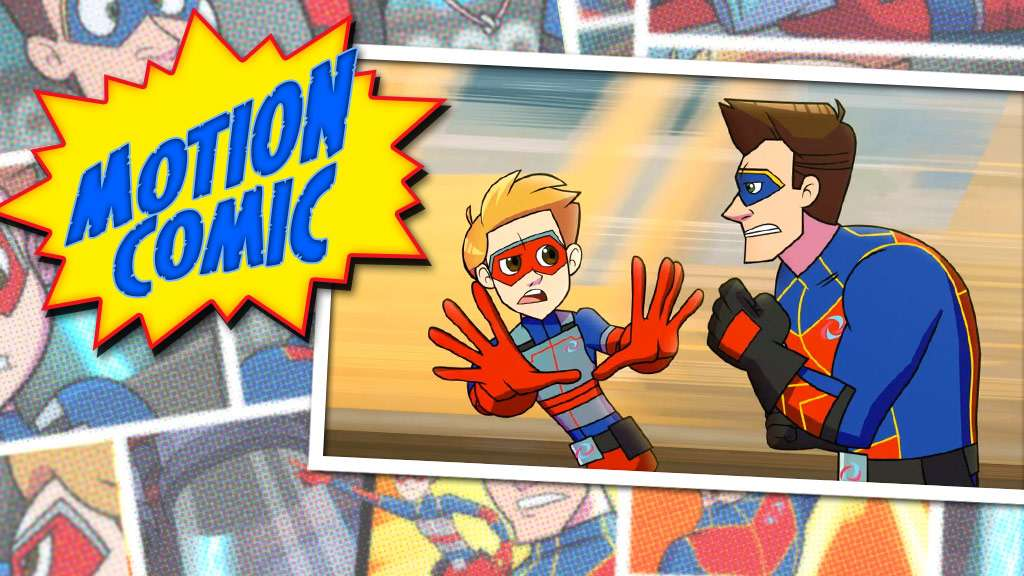 "Henry Danger: ""Motion Comic Issue #11: Race to Danger"""