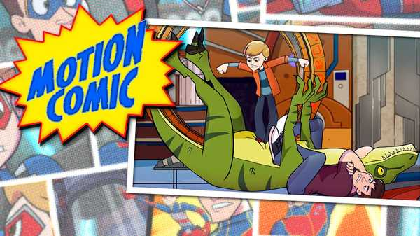 "Henry Danger: ""Motion Comic Issue #9: Sucked To The Future"""