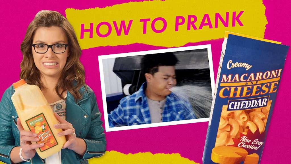"How To Prank: ""Fake Orange Juice"""