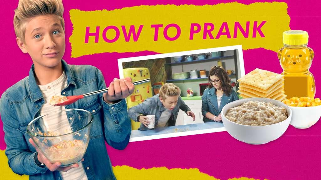 """Game Shakers: """"How To Prank: Fake Puke"""""""