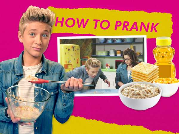 "Game Shakers: ""How To Prank: Fake Puke"""