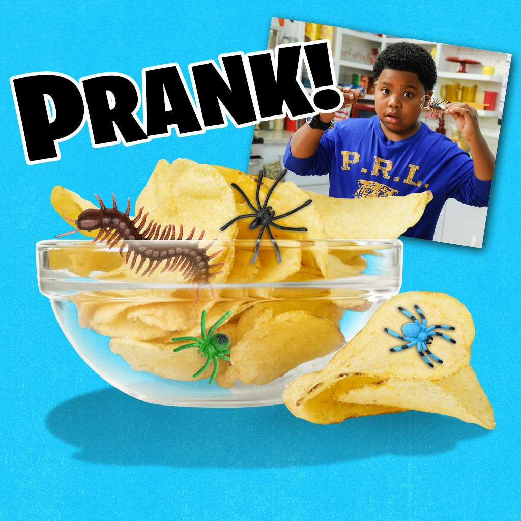"""Haunted Hathaways: """"How to Prank: Chip Switch"""""""