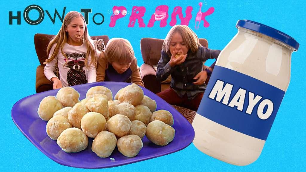 """How to Prank: """"Mayo Donut Holes"""""""