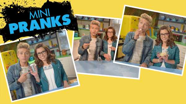 "Game Shakers: ""How To Prank: Mini Pranks"""