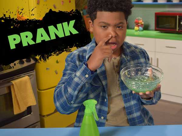 """Game Shakers: """"How To Prank: Super Snot"""""""