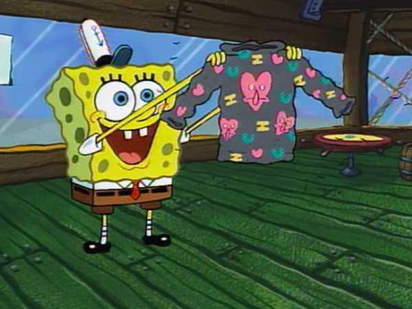 "SpongeBob SquarePants: ""I Heart You"""