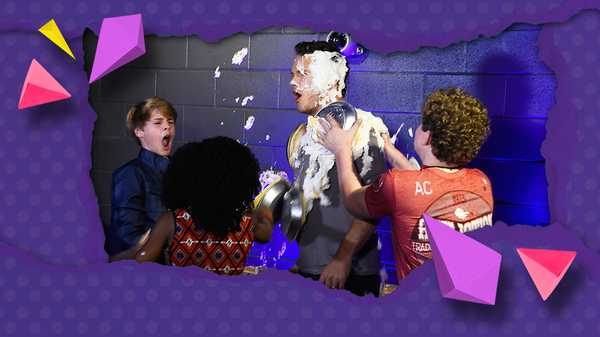 "Kids' Choice Awards 2015: ""Chris Pratt and The Henry Danger Cast Pie Fight!"""