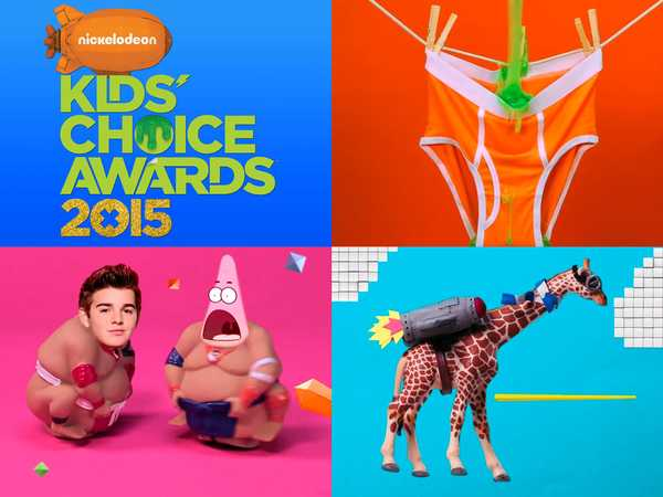 "Kids' Choice Awards 2015: ""You Spoke, We Listened"""