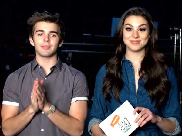 "Kids' Choice Awards: ""Kira Kosarin & Jack Griffo Announce Favorite Kids TV Show Nominees"""