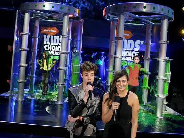 Kids' Choice Awards 2016: The Slime Soakers Are Here!