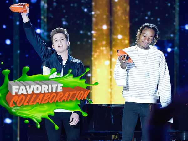 Kids' Choice Awards 2016: Wiz Khalifa and Charlie Puth Perform 'See You Again & One Call Away'