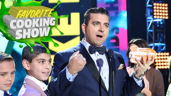 Kids' Choice Awards 2016: Cake Boss Wins Favorite Cooking Show