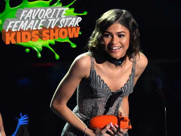 Kids' Choice Awards 2016: Zendaya Wins Favorite Female TV Star
