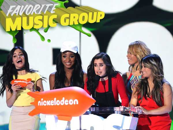 Kids' Choice Awards 2016: Fifth Harmony Wins Favorite Music Group
