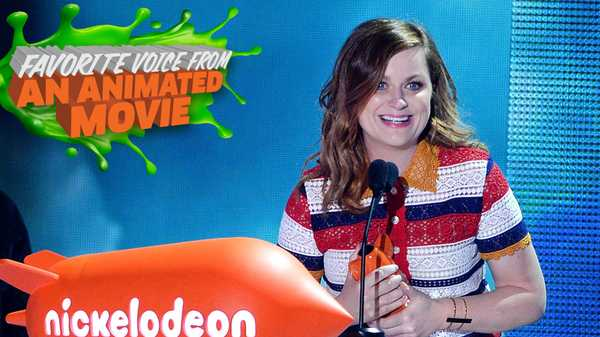 Kids' Choice Awards 2016: Amy Poehler Wins Favorite Voice From An Animated Movie