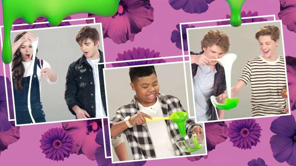 Kids choice awards 2017 nick stars make slime ccuart Gallery