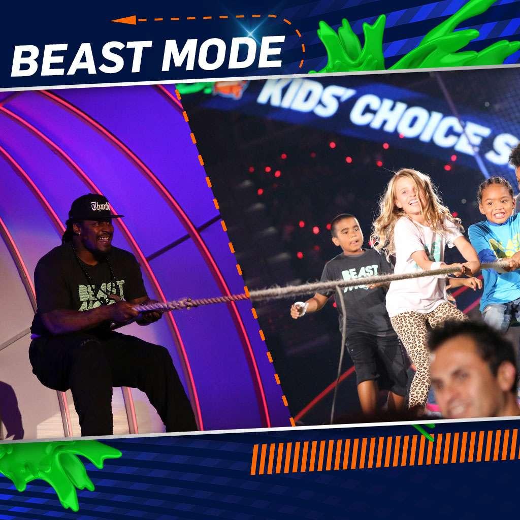 "Kids' Choice Sports 2015: ""Marshawn's Challenge"""