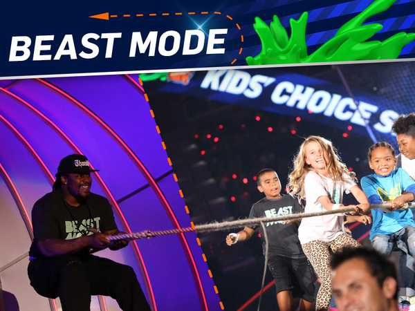 "Kids' Choice Sports 2015: ""Marshawn's Challenge"""