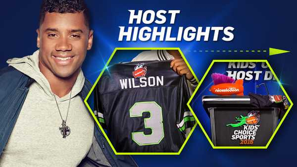 "Kids' Choice Sports 2015: ""The Best of Russell Wilson"""