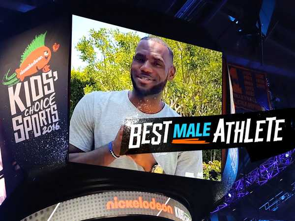 "Kids' Choice Sports 2016: ""LeBron James Wins Best Male Athlete"""