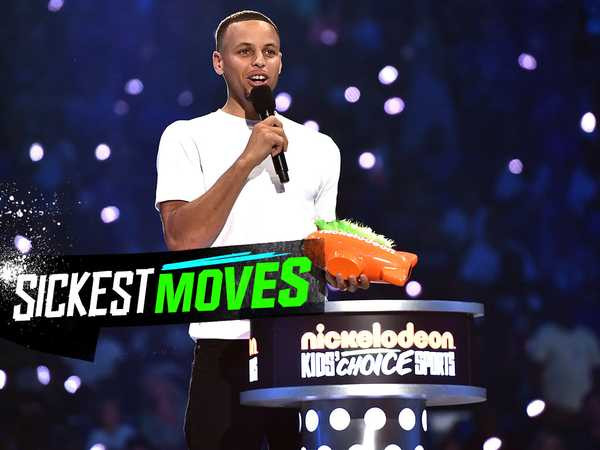 "Kids' Choice Sports 2016: ""Steph Curry Wins Sickest Moves Award"""