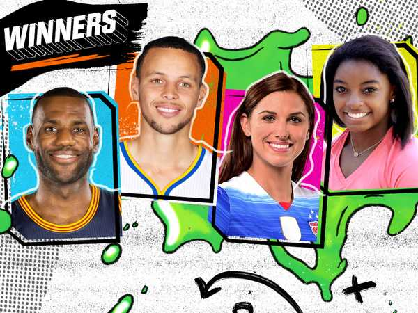 "Kids' Choice Sports 2016: ""Meet the Winners!"""