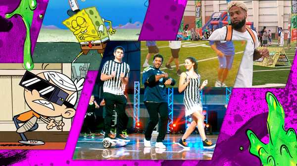 "Kids' Choice Sports: ""Running Man Challenge"""
